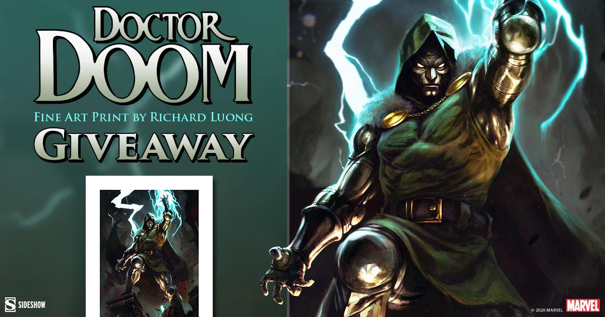 Doctor Doom Fine Art Print Giveaway
