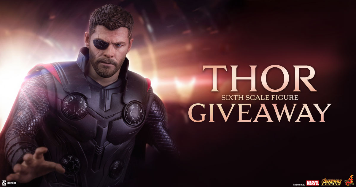 Thor Sixth Scale Figure Newsletter Giveaway
