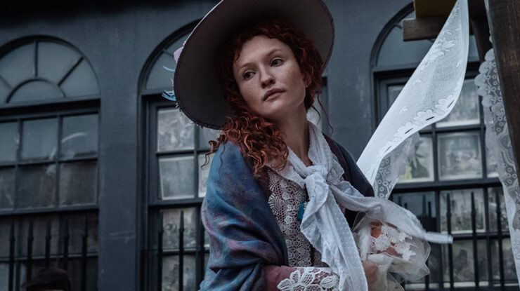 Emily Browning as Essie MacGowen in American Gods S1E7 A Prayer For Mad Sweeney