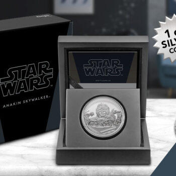 Anakin Skywalker 1oz Silver Coin