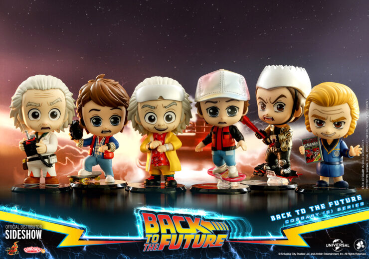Back To The Future Cosbaby Set Hot Toys