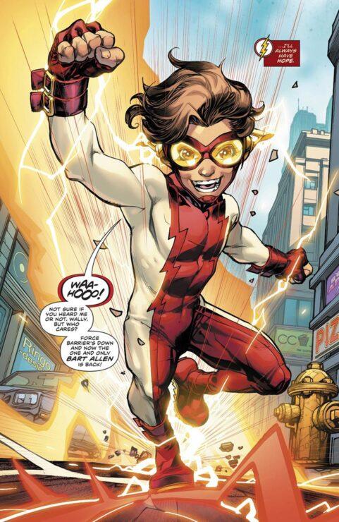 Bart Allen The Flash #50