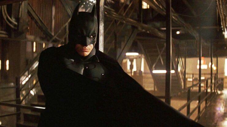 Christian Bale as Batman/Bruce Wayne in Christopher Nolan's Batman Begins (2005)