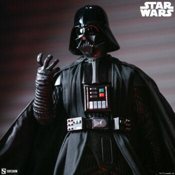 Close up on the Darth Vader Premium Format Figure