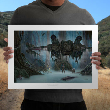 Do. Or do not. There is no try Fine Art Print