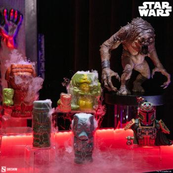 Rancor Statue, Jabba, Mandalorian Geeki Tikis