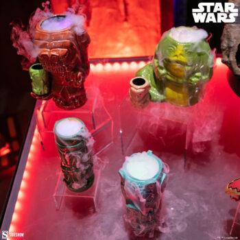 Jabba, Rancor, and Mandalorian Geeki Tikis