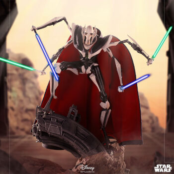 General Grievous Deluxe Tenth Scale Statue