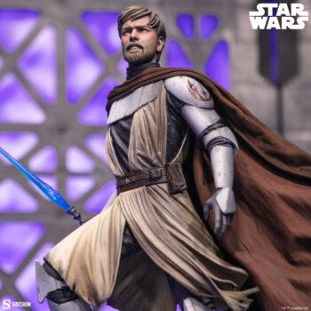 General Obi-Wan Kenobi Mythos Statue Close Up