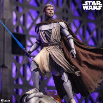General Obi-Wan Kenobi Mythos Statue