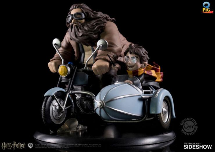 Harry Potter and Rubeus Hagrid Q-Fig Max Diorama by Quantum Mechanix