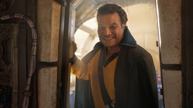 Lando Calrissian Star Wars Rise of Skywalker