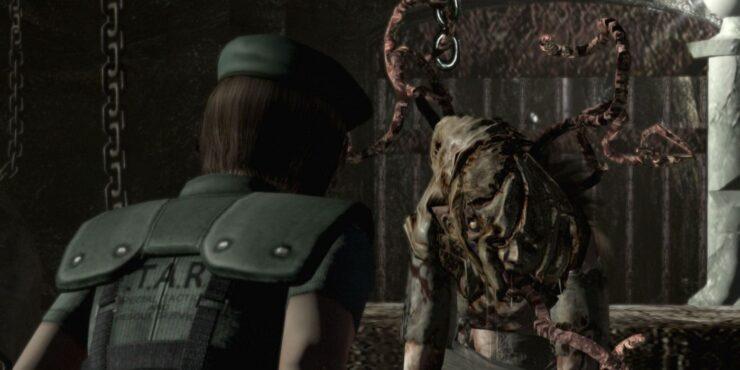 Lisa Trevor Resident Evil