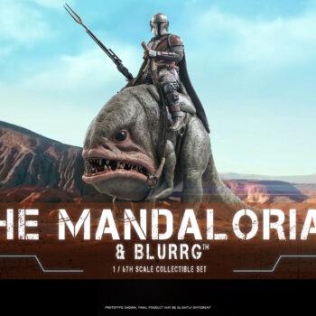 Mandalorian & Blurrg Sixth Scale Figure Set
