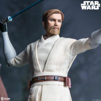 Obi-Wan Kenobi Sixth Scale Figure Close up on right side