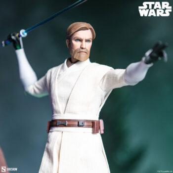 Obi-Wan Kenobi Sixth Scale Figure close up