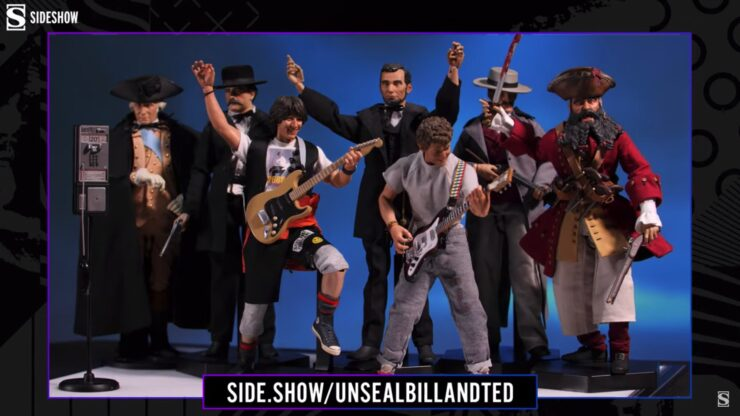Top 10 Easter Eggs in the Blitzway Bill and Ted Sixth Scale Figure Set