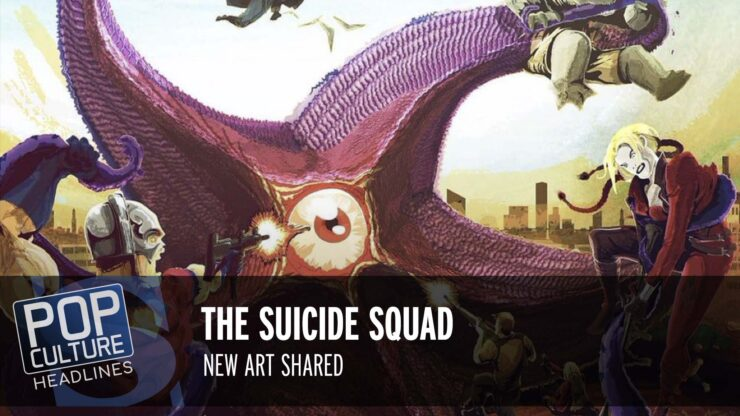 Pop Culture Headlines – Suicide Squad Art