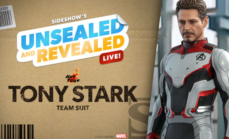 Up Next on Unsealed and Revealed: Tony Stark Sixth Scale Figure by Hot Toys