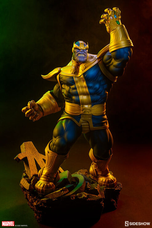 Thanos (Classic Version) Statue by Sideshow Collectibles