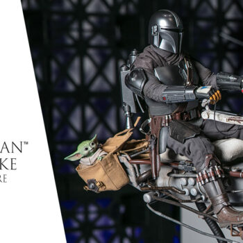 The Mandalorian and Swoop Bike Sixth Scale Figure