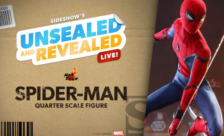 Up Next on Unsealed and Revealed: Spider-Man Quarter Scale by Hot Toys