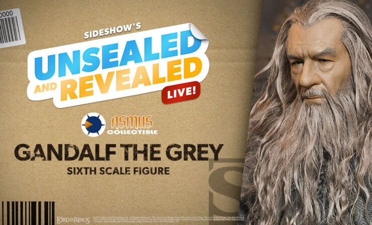 Up Next on Unsealed and Revealed: Gandalf the Grey Sixth Scale Figure by Asmus Collectible Toys