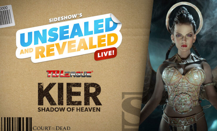 Up Next on Unsealed and Revealed: Kier Sixth Scale Figure by TBLeague