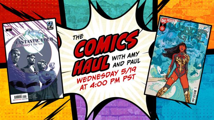 The Comics Haul- May 19
