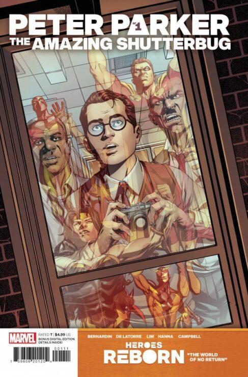 Peter Parker: The Amazing Shutterbug #1 (Marvel Comics)