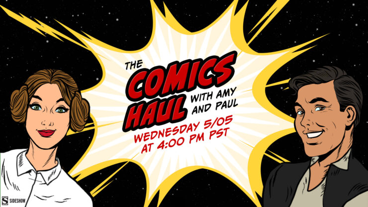 Skywalker Saga Comics Recommendations- The Comics Haul With Amy & Paul Star Wars Week Edition