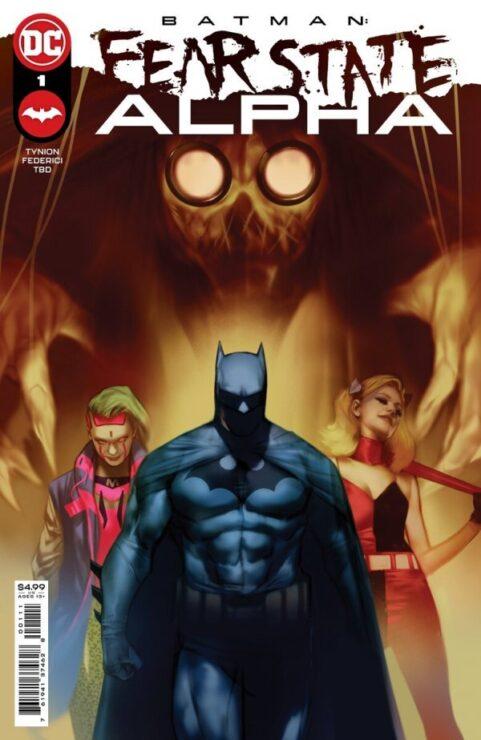 Coming Soon: FEAR STATE ALPHA (DC Comics)