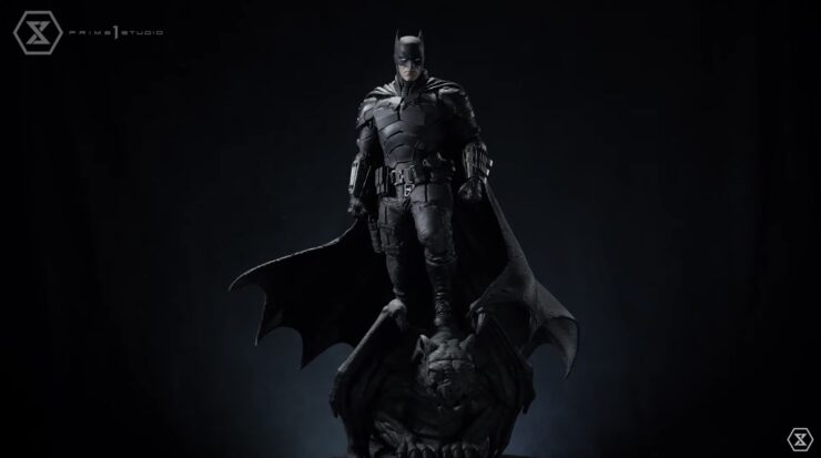 The Batman Statue- Turnaround Full Body Front View