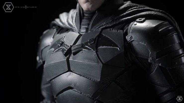 The Batman Statue- Bat-Symbol