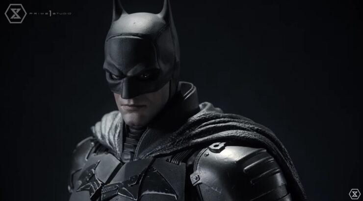 The Batman Statue- Portrait
