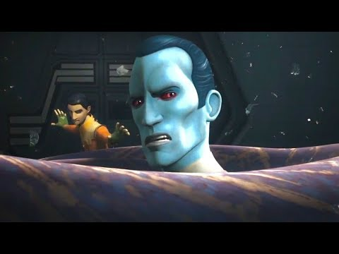 Thrawn attacked by a purgill