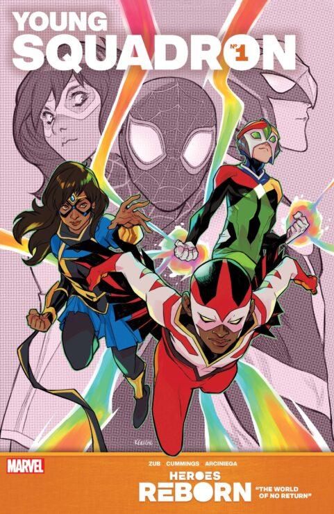 HEROES REBORN: YOUNG SQUADRON #1 (Marvel Comics)