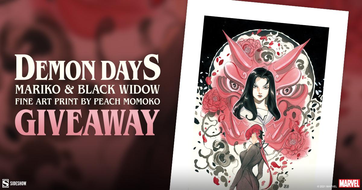 Demon Days: Mariko and Black Widow Fine Art Print Giveaway