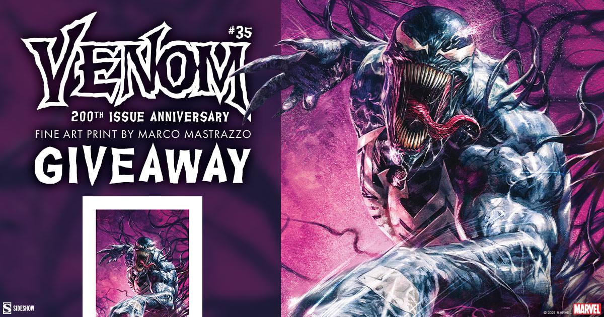 Venom #35 200th Issue Anniversary Fine Art Print Giveaway