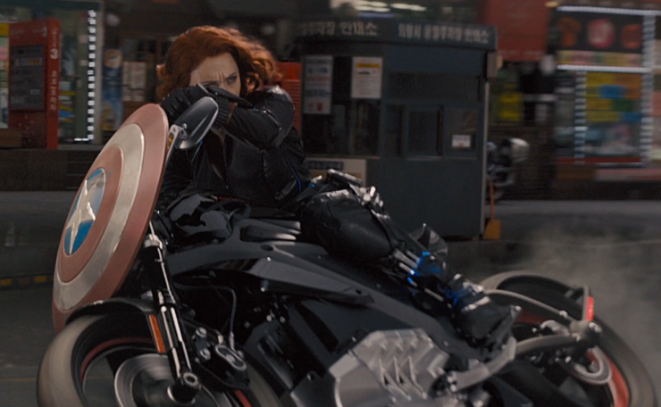 Scarlett Johansson as Natasha Romanoff / Black Widow in Marvel's Avengers Age of Ultron
