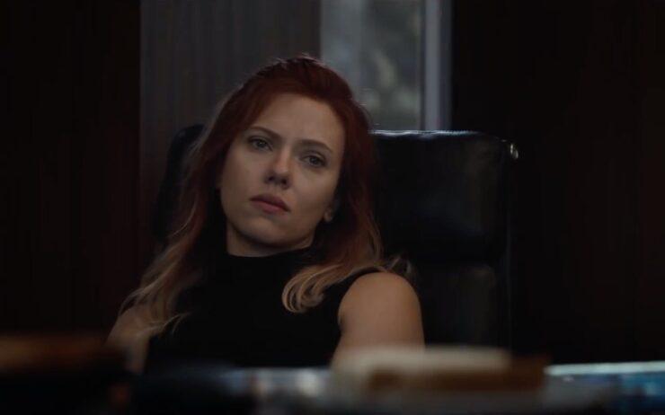 Scarlett Johansson as Natasha Romanoff / Black Widow in Marvel's Avengers Endgame