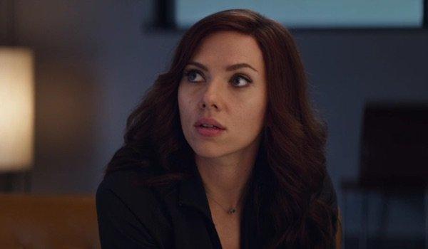 Scarlett Johansson as Natasha Romanoff / Black Widow in Marvel's Captain America Civil War