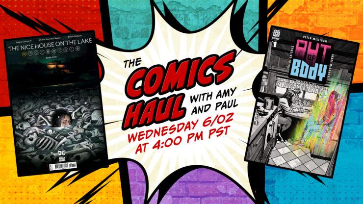 Comics Haul- June 2nd Promo