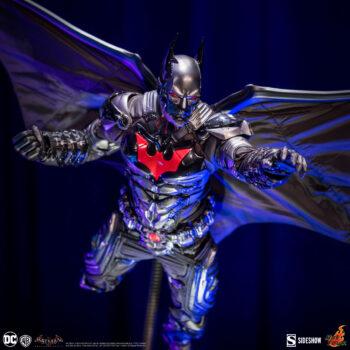 Batman: Arkham Knight Batman Beyond Sixth Scale Figure by Hot Toys- Portrait Closer Up