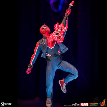 Spider-Man Spider-Punk Suit Sixth Scale by Hot Toys Full Body