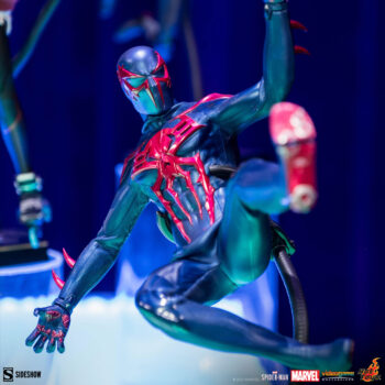 Spider-Man 2099 Black Suit Sixth Scale by Hot Toys Front View
