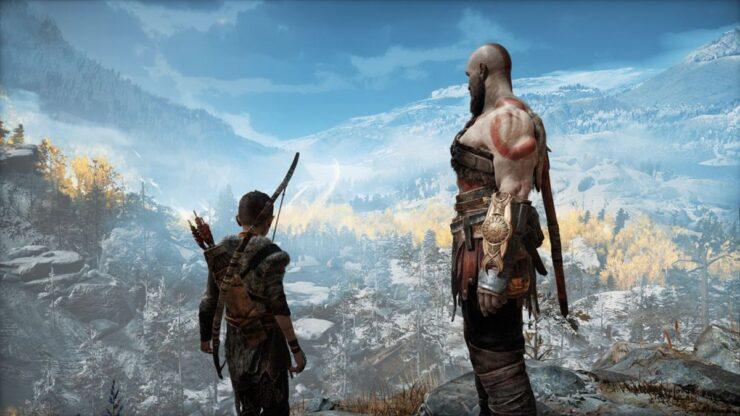 God of War Kratos and Loki
