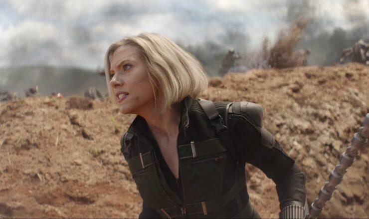 Scarlett Johansson as Natasha Romanoff / Black Widow in Marvel's Avengers Infinity War