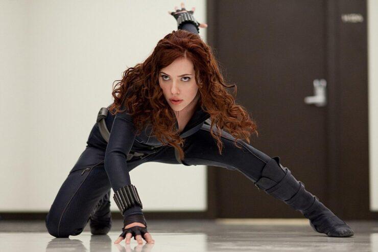 Scarlett Johansson as Natasha Romanoff / Black Widow in Marvel's Iron Man 2