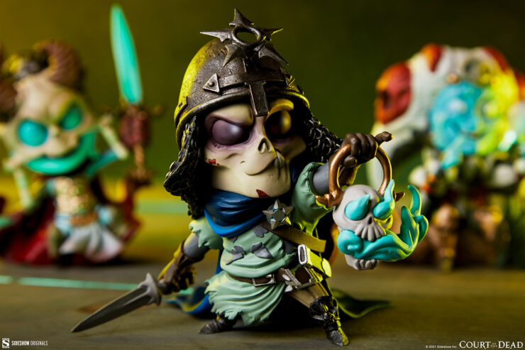 Centering in on Relic Ravlatch in the Court-Toons Collectible Statue Set